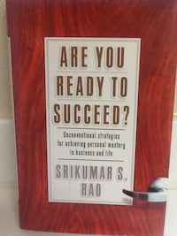 ARE YOU READY TO SUCCEED Book - Rao - Money Business Self Help Las Vegas, 89119