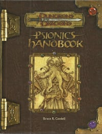 Dungeons and Dragons 3.5 Psionics Handbook Good Condition Bruce R. Cor