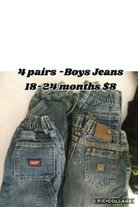 3 pairs Boys jeans 18-24 months Norwalk, 06854