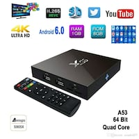 X96 tv box android peliculas y canales tv show Maywood, 90270