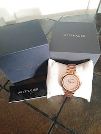 Wittnauer WN4027 Crystal Rose Gold Watch Toronto