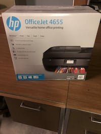 Black HP OfficeJet 4655 Printer Warren