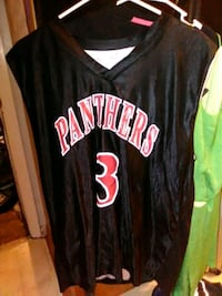 black and red  jersey Jacksonville, 72076