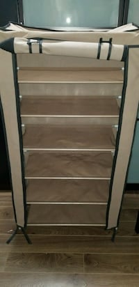 Shoe storage rack with zippered cover Edmonton, T5T 2R1