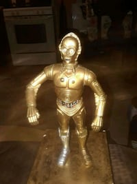 VINTAGE C3P0 STAR WARS 9IN COLLECTABLE FIGURE Providence