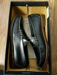pair of black leather loafers Cambridge, 02141