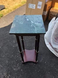 Marble telephone table Barrie, L4M 6Y2