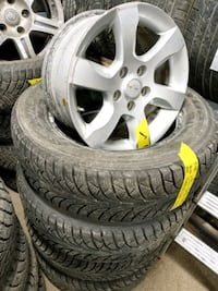 "16"" Alloy Rims - $200 -==- Tires 4pcs $200 Toronto, M3K 1Z9"