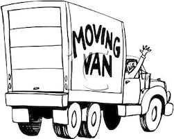 Delivery and moving truck service..good price match your budget
