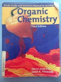 Organic Chemistry Solution manual