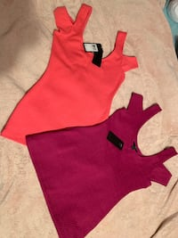 Off The Cold Shoulder Guess Tops (2) (OBO)
