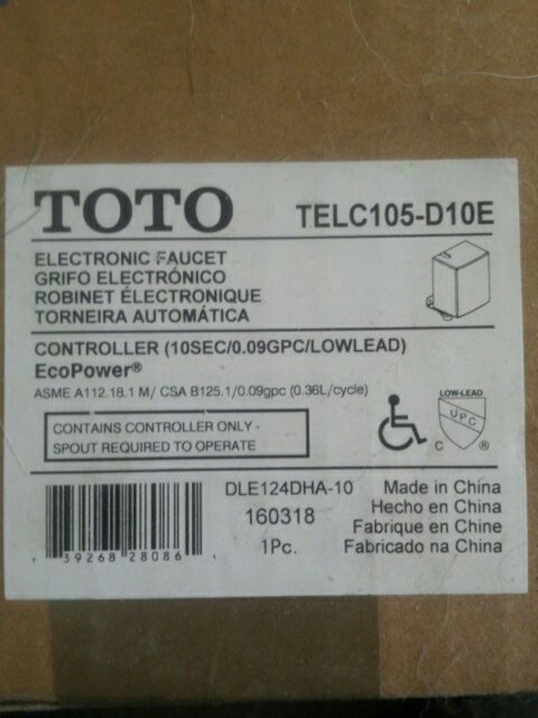 Used toto telc105-d10e for sale in Lorain - letgo