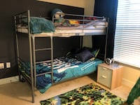 Twin size bunk bed 63 km