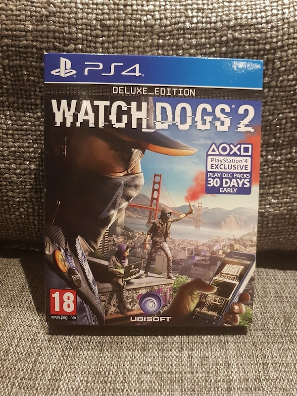 Sony PS4 Watch Dogs 2 DELUXE_EDITION