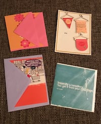 More than 70 items!- Card, envelope and scrapbook supplies
