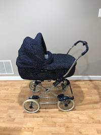 PegPerego baby carriage/bassinet, used, great condition Fairfax, 22030