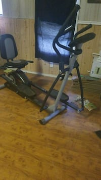 black and gray elliptical trainer East Mountain