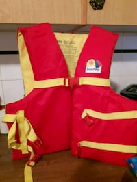 Adult life jacket new