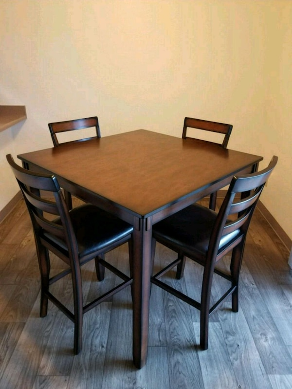 Ashley Furniture Bar Height Dining Table Set