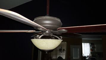 Hunter ceiling fan with light and heater