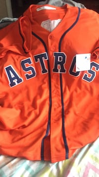 Orange and Navy Astros jersey  Raleigh, 27604