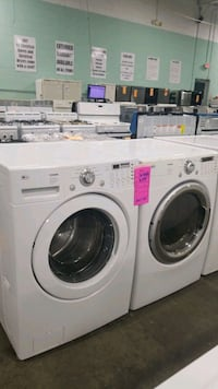 Lg washer and gas dryer set Stony Brook, 11794