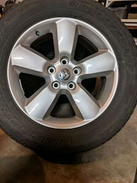 Dodge 1500 20-in rims and tires Calgary, T2M 3L3