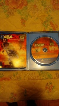 NBA 2K15 Sony PS4 game disc in case
