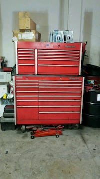 red Snap-On tool cabinet Arlington, 22204
