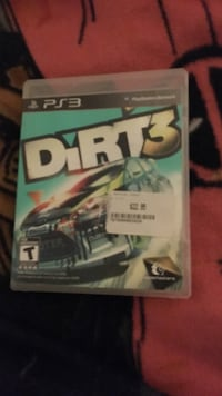 Dirt 3 Sony ps3 game case