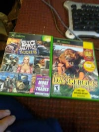 three Xbox 360 game cases Bowie