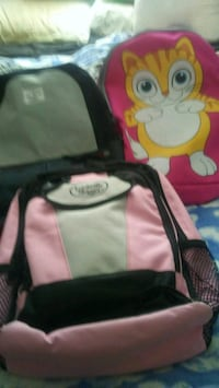 3 backpacks with school supplies 10.00 each Bakersfield, 93308