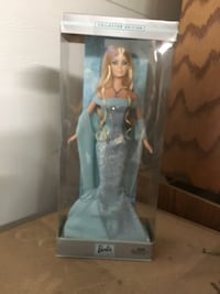 Blonde haired Barbie doll in box