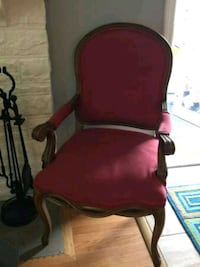red arm chair 167 mi