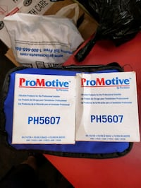 Two oil filters for 2007 08 09 BMW x5  Edmonton, T5P 3Z4