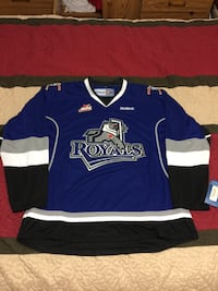 WHL, AHL Hockey Jerseys, Victoria Royals and Manitoba Moose Mississauga