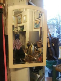 brown wooden framed glass display cabinet London, N1 4AA