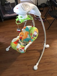 Infant Battery & Electric Operated Cradle 'N Swing