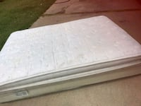 white and gray floral mattress Odessa
