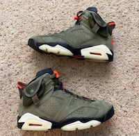 Air Jordan 6 Travis Scott size 8 Washington, 20032