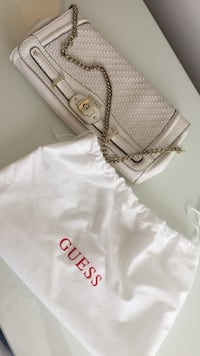 Women's white Guess leather sling bag Reisterstown, 21136