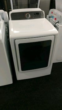 white Samsung front-load clothes washer Acworth, 30102