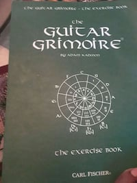 The guitar grimoire by Aoam Kadmon (exercise book) Alexandria, 22304