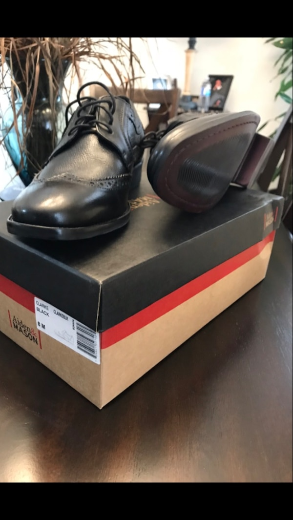 d0f9c4dd1889 Used Black leather Aiden   Mason shoes with box .Brand New for sale ...