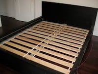 black and brown wooden bed frame Silver Spring