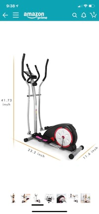 Almost new Anfan elliptical machine trainer Lake Forest