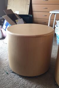 Round Coffee Table (2). On rollers. Price includes both.