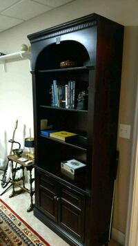Stunning Cherry bookcase.  Perfect, tall...amazing Fairfax, 22030