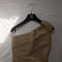 Gorgeous gold dress size small New York, 10010