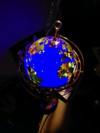 Decorative spinning globe Mississauga, L5N 3G9